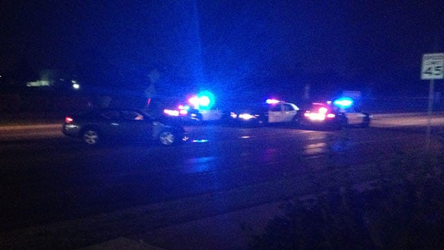High-Speed Chase Ends With Crash In SW OKC