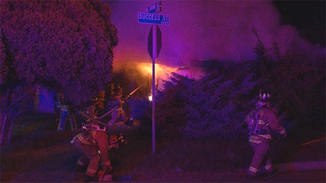 Arsonists May Be Behind Suspicious Fires At Vacant NE OKC Homes