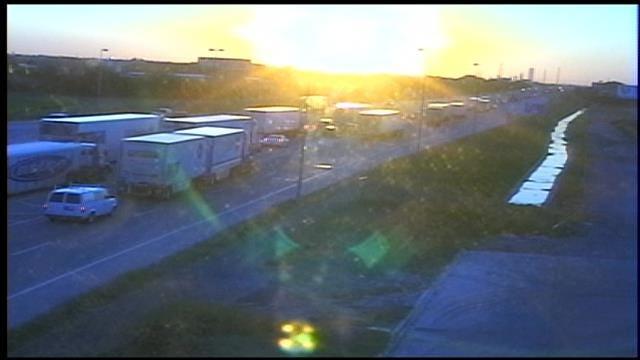 Semi Crash Creates Morning Commute Mess On Eastbound I-40