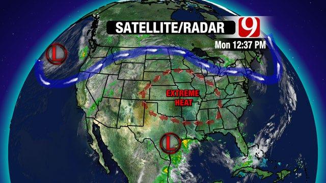 Temps Increase Across Oklahoma Through Holiday Weekend