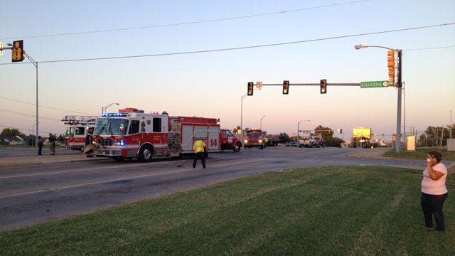 Multiple EMSA Units Called To Crash In NW OKC
