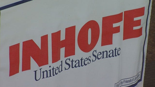 Thousands Of Dollars Charged To Stolen Inhofe Campaign Credit Card