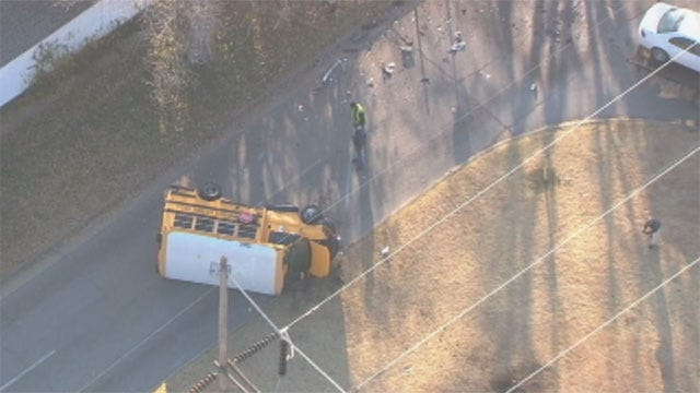 News 9 Researches Local School Bus Accidents