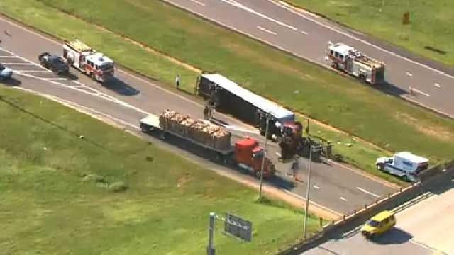 Semi Driver Injured Following Crash In Southwest OKC