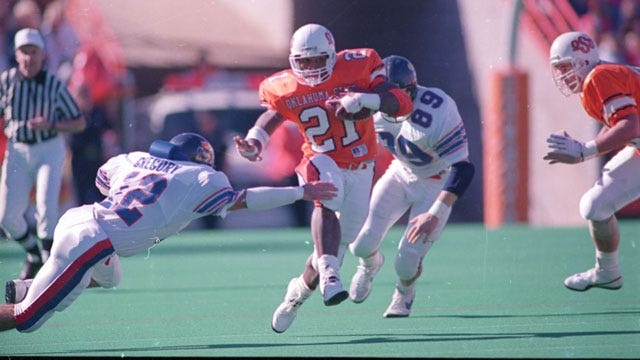 OSU Athletic Department Celebrating Barry Sanders' 25th Anniversary