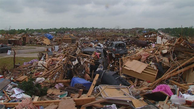 Insurance Payments For May Tornadoes Top $1 Billion