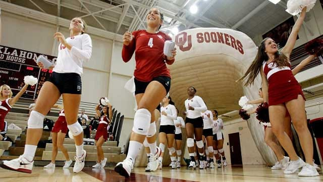 OU Volleyball Picked Fifth In Big 12 Preseason Poll