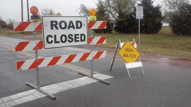 Flooding Closes Roads In Deer Creek Area