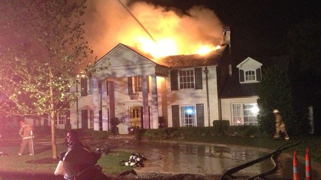 Lightning May Have Started Nichols Hills Fire