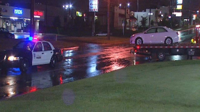 Overnight Storms Cause Heavy Flooding In Oklahoma City