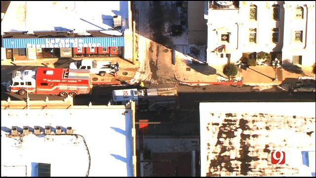 Gas Leak Repaired In Downtown OKC