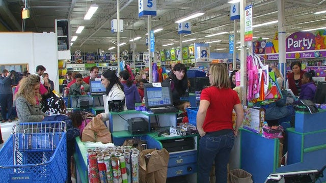 SandRridge Treats OKC Elementary Students To Christmas Shopping Spree