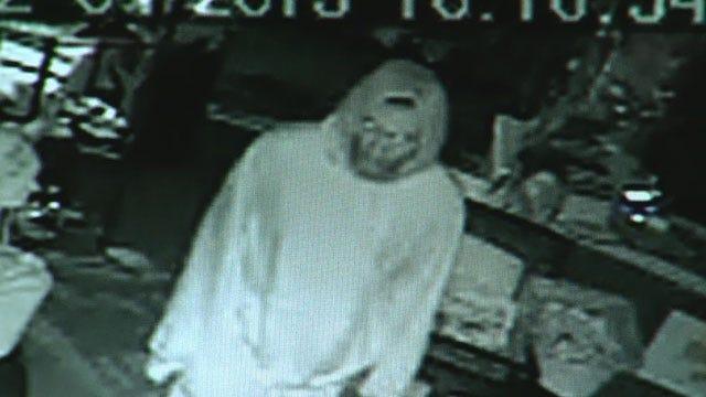 Thief Caught On Camera Hitting Small OKC Business
