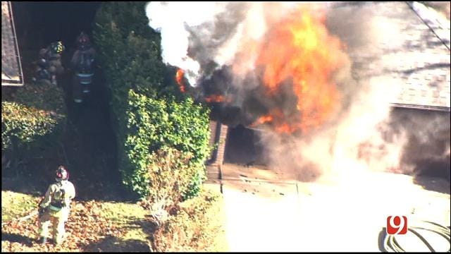 One Person Killed In Two-Alarm Fire In NW OKC