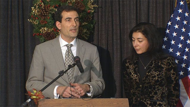 With Scandalous Divorce Details Looming, Ex-Wife Endorses OKC Mayoral Candidate