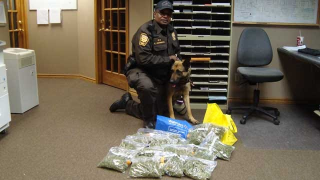Traffic Stop Leads To Drug Bust In Canadian County