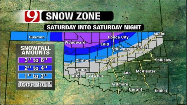 Oklahoma Bracing For Vicious Ice Storm