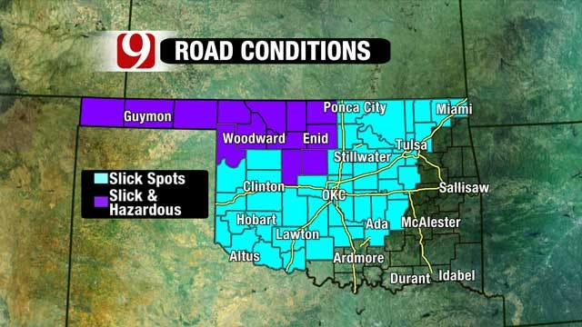 Ice, Snow Still Causing Problems In Oklahoma After Winter Storm