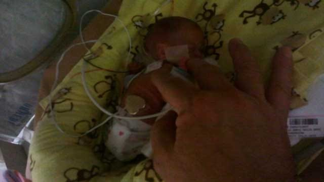 One Of Oklahoma's Tiniest Babies Goes Home For The Holidays