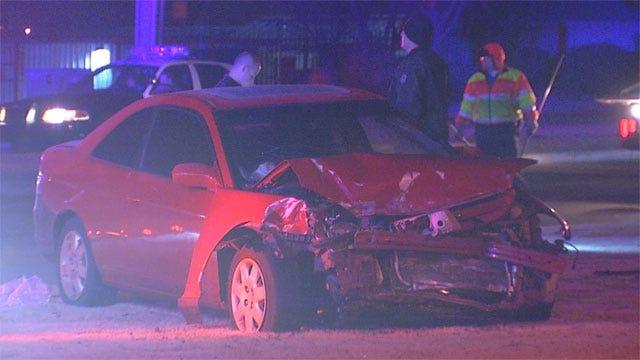 Yukon Police Cruiser Struck By Suspected Drunken Driver