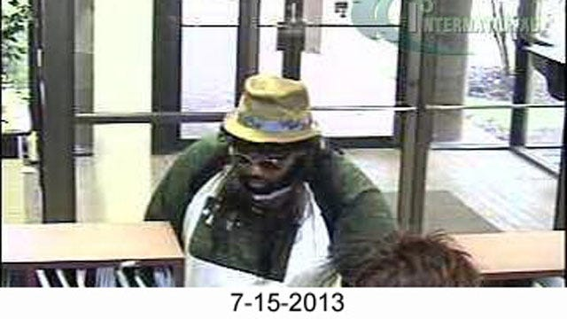 Reward Increased For Suspect In Four OKC Bank Robberies