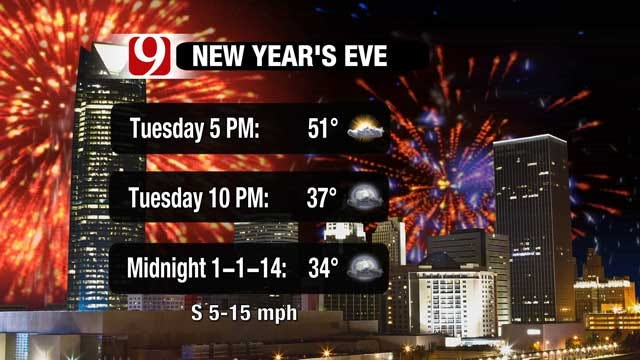 Bitter Cold Turns To Pleasant New Year's Forecast