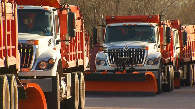 City Crews, Residents Preparing For Wild Round Of Winter Weather