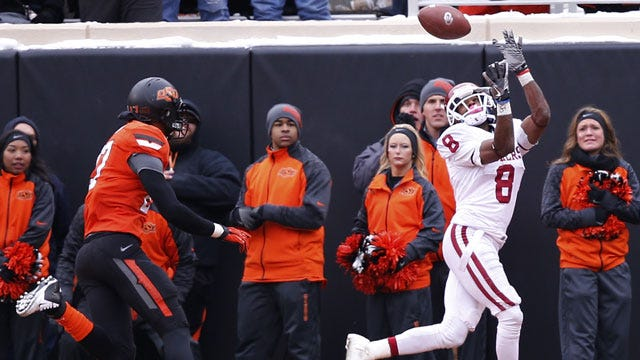 HEART OF ICE: Sooners Stun Oklahoma State With Late Touchdown