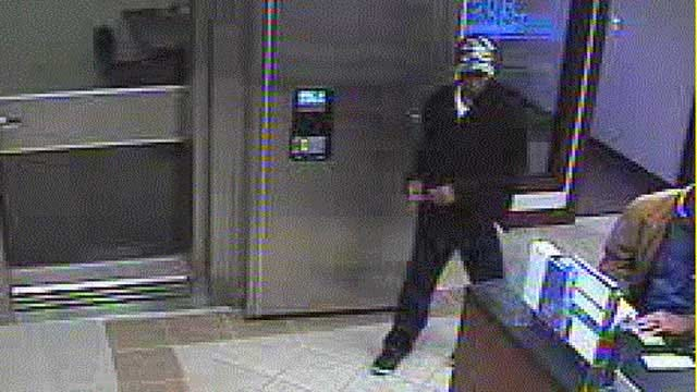 Authorities Seek Suspect In Norman Bank Robbery