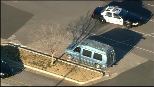 Police Investigate Body Found Inside Van In NW OKC