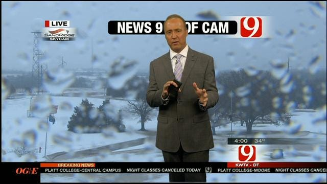 News 9 Storm Tracker Val Castor Gives David Payne A Hard Time