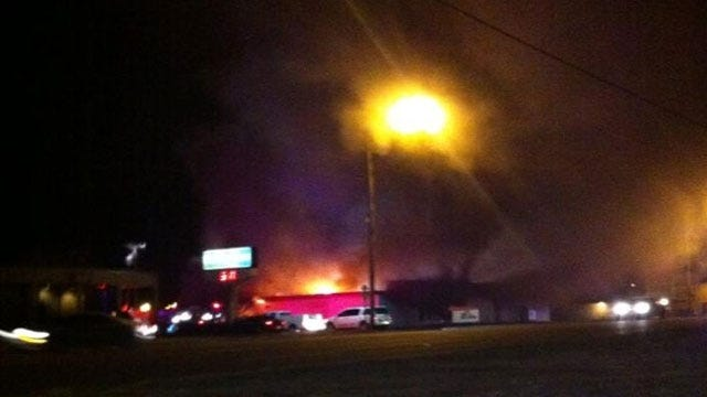 Fire That Damaged Iconic Building In Tuttle Ruled Accidental