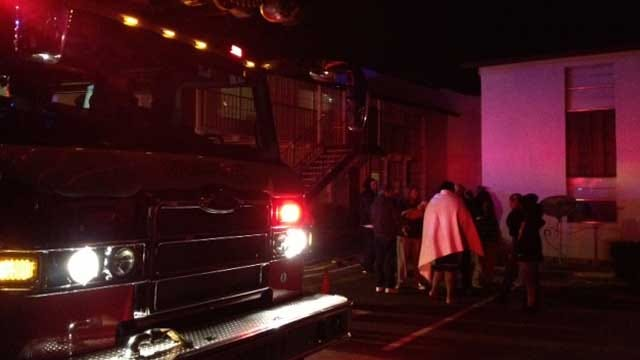 Firefighters Knock Down Apartment Fire In Edmond
