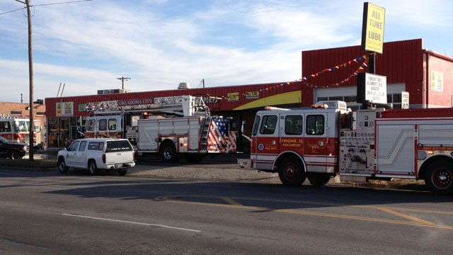 Employee Accidentally Starts Fire At OKC Business