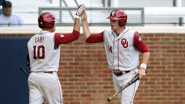 Oberste's Walk-Off Home Run Gives OU Four-Game Sweep Of Hofstra