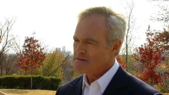 The 'Oklahoma Side' To CBS Evening News Anchor Scott Pelley