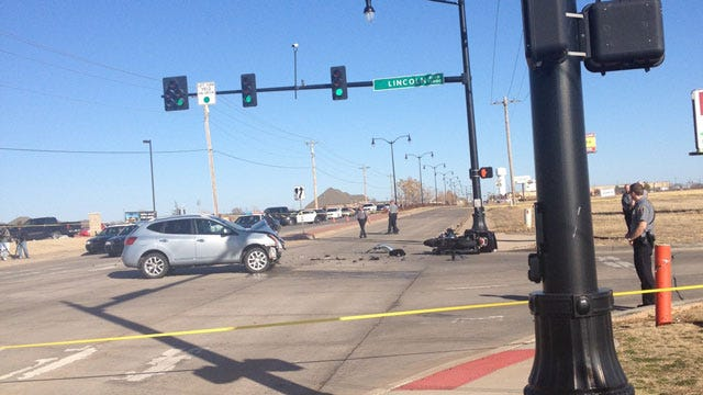 Two Critical After Motorcycle Collides With SUV In Edmond