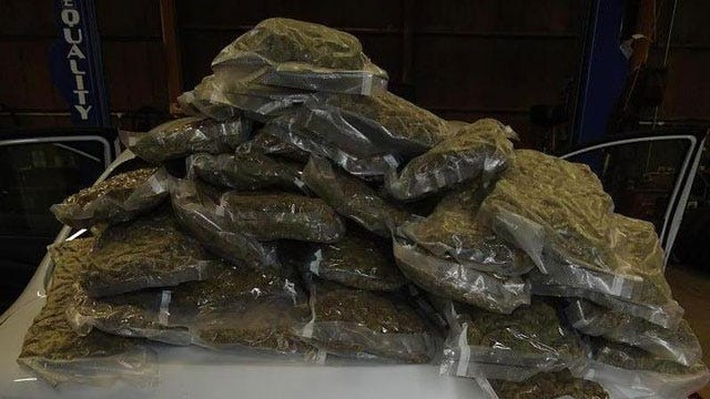 Deputies Find 28 Pounds Of Marijuana During Traffic Stop In Canadian County