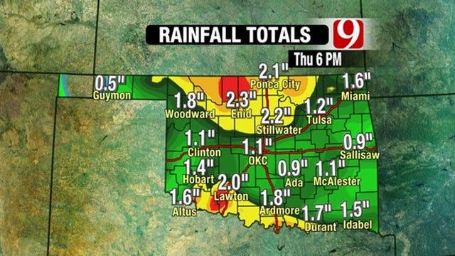 Storm To Bring Rain, Sleet, Snow To Oklahoma