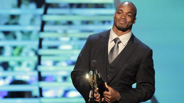 Adrian Peterson Named NFL MVP