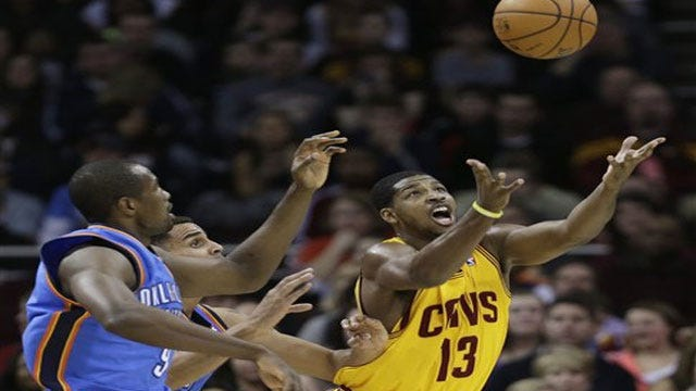 Hot In Cleveland: Cavs Win High-Scoring Shootout Over Thunder
