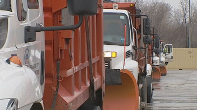 City, Utility Crews Prepare For Round Two Of Wintery Mix