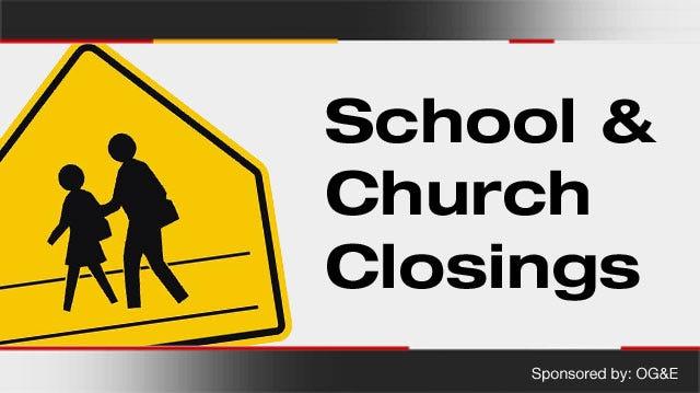 List Of School Closings, Delays