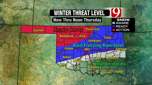 Oklahoma Bracing For Second Wave Of Winter Weather