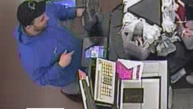Surveillance Camera Catches Burglary Suspects At Guthrie Store