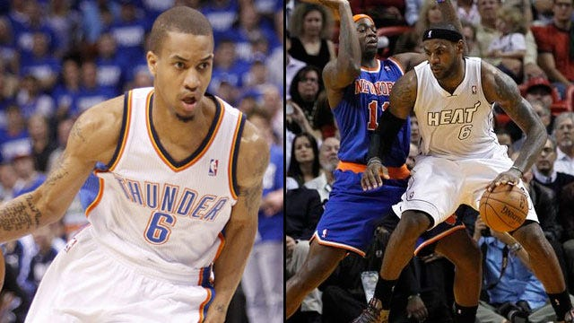 CBS Sports: Thunder Acquires Ronnie Brewer From Knicks; Trades Maynor