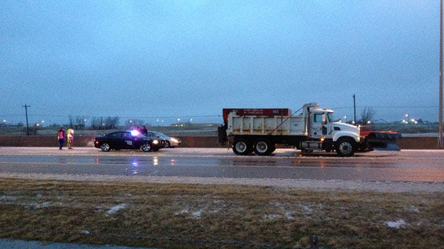 Oklahoma Winter Storm Causes Numerous Accidents, School Closings