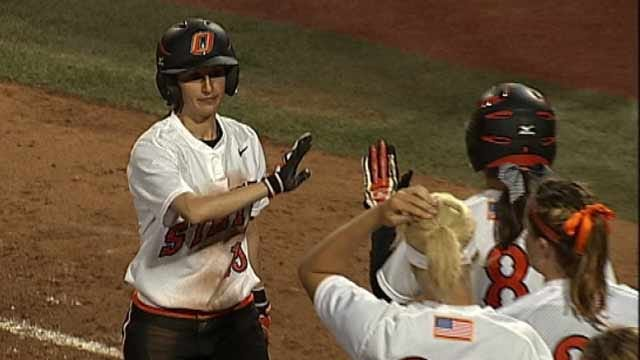 OSU Softball Splits Two Games At Cathedral City Classic