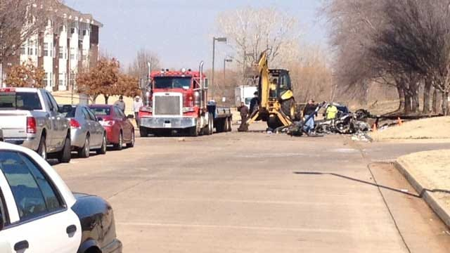 NTSB Investigators Search For Clues In OKC Helicopter Crash