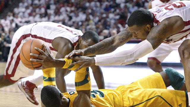 Sooners Overwhelm Baylor Behind Strong First Half Performance